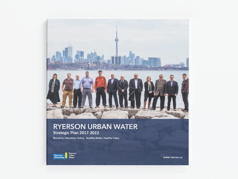Ryerson Urban Water strategic plan cover