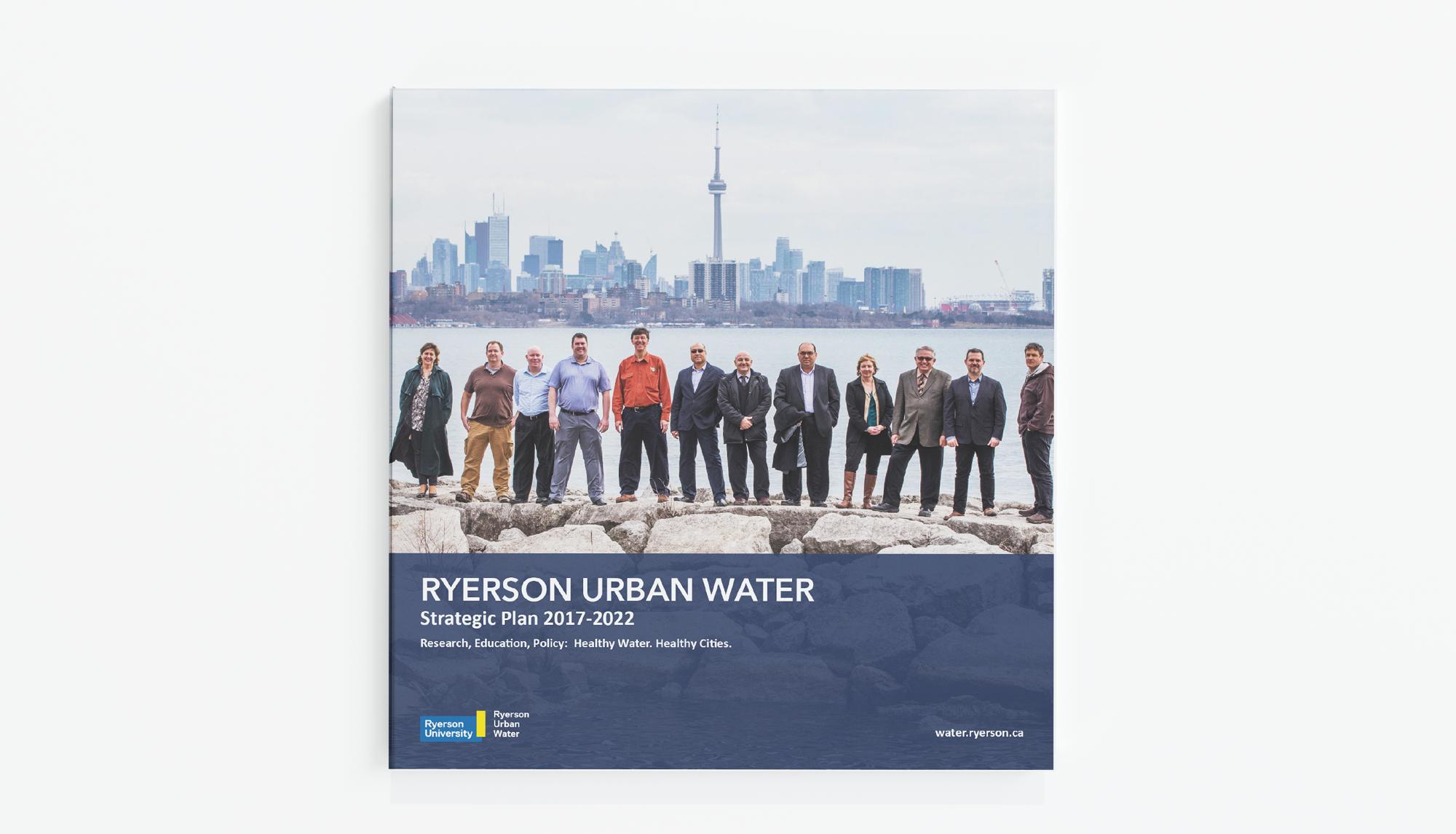 Ryerson Urban Water strategic plan cover
